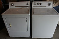 Whirlpool Washer / Electric Dryer  220.00