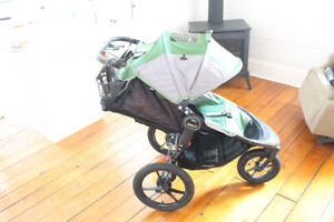 Baby Jogger X3 and Car Seat