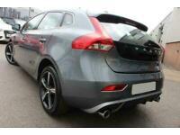 2017 GREY VOLVO V40 2.0 T2 R-DESIGN NAV PLUS HATCHBACK CAR FINANCE FR £201 PCM