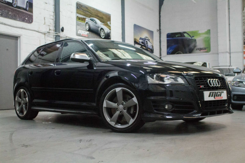 Audi S3 2.0T FSI Quattro Sportback Black Edition, 11 Reg, Only 33k, Black, FSH.