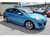 Mazda 3 2.2D ( 150ps ) Sport BLUE 5 DOOR 2011 MODEL