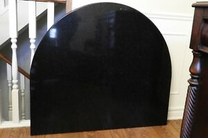 Table or counter top - black granite