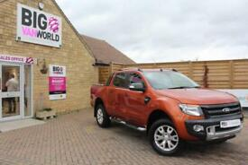 2015 FORD RANGER WILDTRAK TDCI 197 4X4 DOUBLE CAB PICK UP DIESEL