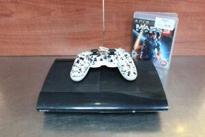 Super console playstation 3 250Gb avec 3 jeux de 10$ au choix !