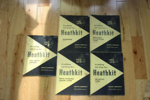 HeathKit Manuals, parts and tubes