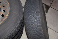 Goodyear Nordic 205-75-14 winter tires