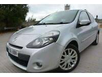2011 61 RENAULT CLIO DYNAMIQUE TOMTOM 1.1 3 DOOR*LOW MILEAGE*ONLY 55,000 MILES*