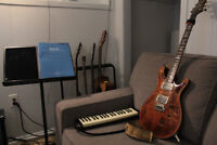 Guitar, piano, music theory, and music production lessons!