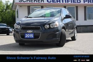 2015 Chevrolet Sonic (4) LT - 6AT
