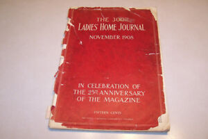 The 300th Edition of The Ladies Home Journal from 1908
