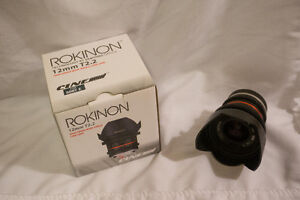 Rokinon 12mm T2.2 Cine Lens (for Sony) - Wide Angle
