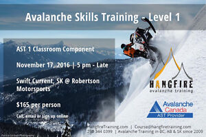 AST1 AVALANCHE TRAINING COURSE @ ROBERTSON MOTORSPORTS
