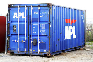 20ft Shipping Container for Rent in our yard in Napanee