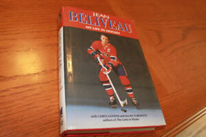 Jean Beliveau book