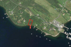 Beautiful Oceanfront Building Lot with 110ft Wharf 696 Hermans