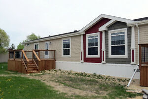Brand New! Stunning 3 Bdrm Mobile Home — St. Clements, MB