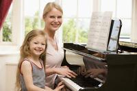 COURS DE PIANO • PIANO LESSONS ($10/HOUR) - (438) 380-8997