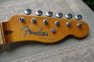 Fender USA made 52 Reissue Telecaster Neck, AAA flame maple