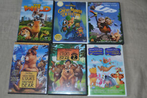 films 6 dvd disney