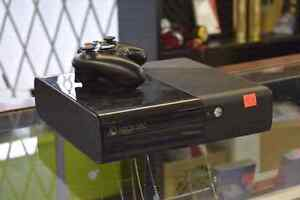 XBOX 360 Model E 500gb Console + Controller + Hookups