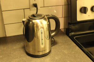 Stainless steel variable temp electric kettle *MOVING SALE*