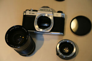 Pentax K-1000 lens and polarizing filter