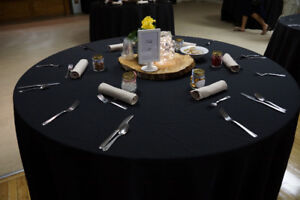 Commercial grade table clothes and napkins