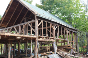 Post and Beam Barn for Sale