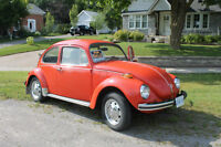 1972 VW BEETLE TOTALY original as ever