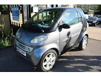Smart Pulse City Coupe Semi-Auto Left Hand Drive LHD Black Grey 2 Door