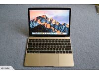"""MacBook Air 12"""" Gold / 500GB SSD / 8GB RAM / 1.3M PERFECT CONDITION"""