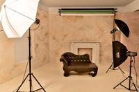Faites vos photos vous-même! Grand studio à louer!