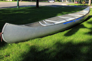 I'm looking for an older aluminum canoe