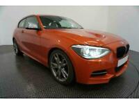 2014 ORANGE BMW M135i 3.0 T SPORT PETROL MANUAL 3DR HATCH CAR FINANCE FR £241PCM