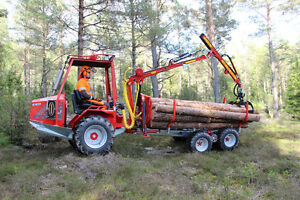 Thinning Forwarder from Kranman Starting at $525.00 a month