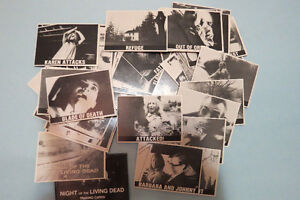 Night Of The Living Dead Collector Cards Complete Set  $10 OBO London Ontario image 1