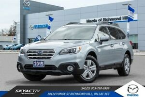 2015 Subaru Outback 2.5i LOW KMS*BLUETOOTH*BACK UP CAMERA