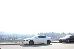 2008 G37S Coupe Pearl White - 110,xxxkm