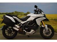 Ducati Multistrada 1200S 2012**KEYLESS IGNITION, ABS, ELECTRONIC SUSPENSION**