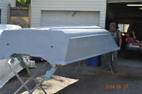 14' springbok aluminum boat and 35 hp force outboard.