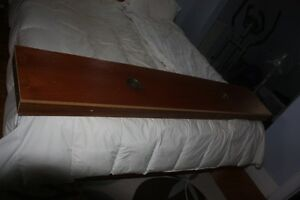 Teak Light Bridge for a King Size Bed