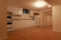 LARGE & BRIGHT BASEMENT APARTMENT - (Jones/Danforth)