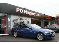 2008 BMW 3 SERIES 320i + FULL BLACK LEATHER + XENONS