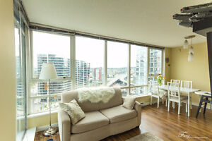 2 BR Yaletown Corner Suite with Amazing View - Furn/ Unfurnished