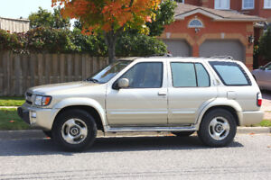 1999 Infiniti QX4 SUV - Safetied and E-tested