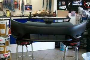 06-08 Honda Civic Coupe 2 Dr Pare-Chocs Avant Front Bumper Cover