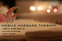 90 MIN. MOBILE MASSAGE $100