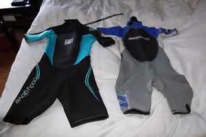 3 x Wetsuits Body glove Mares fin surfing snorkle scuba BARE