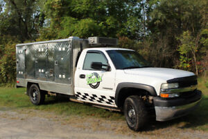 2002 Chevrolet Silverado Coffee/Catering Truck (No Route)