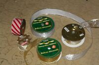 Christmas bow ribbons white, gold, silver, cream, peppermint City of Halifax Halifax Preview